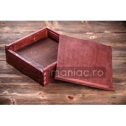 Cutie lemn album model CDM