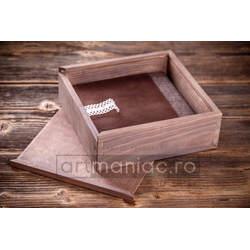 Cutie lemn album model CDG