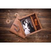 Cutie lemn (pătrat) stick + foto (4)